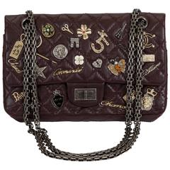 Chanel Lucky Charms Brown Lambskin Flap Bag