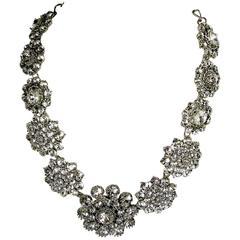 Oscar De La Renta Vintage Crystal Necklace
