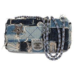 Chanel Denim Dallas Limited Edition Flap Bag