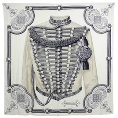 Hermes cashmere silk shawl 140cm – Brandebourgs