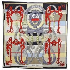 Hermes cashmere silk shawl 140cm – Della Cavelleria