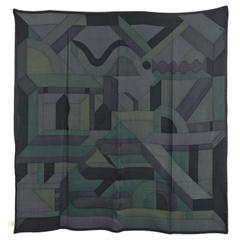 Hermes cashmere silk scarf 39 x 39 inches – Perspective Cavaliere
