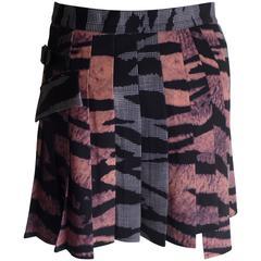 2013 McQ Alexander McQueen Wrap Skirt (42 Itl)