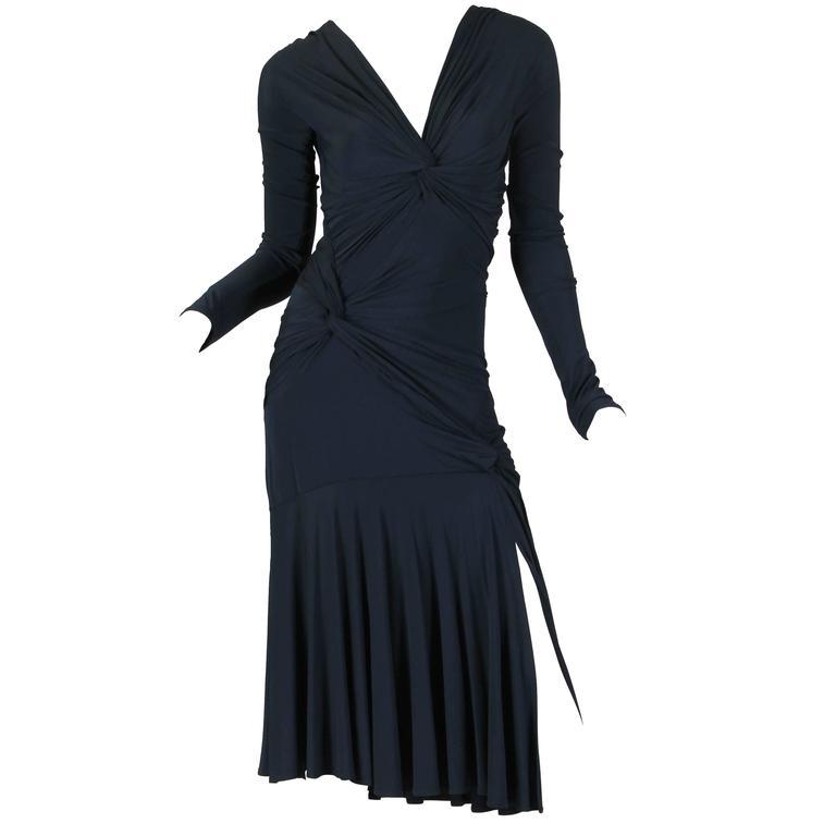 Sexy Donna Karan Jersey Dress