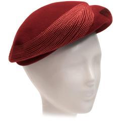1940s Hattie Carnegie Hat