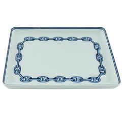 Hermes Chaine d'Ancre Rectangular Plate Pin Tray