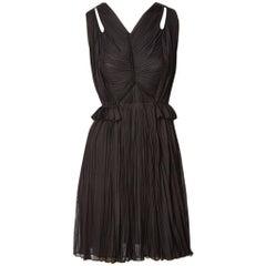 Isabel Toledo Silk Jersey Cocktail Dress