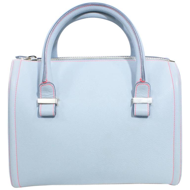 Victoria Beckham Light Blue Tote Handbag  1