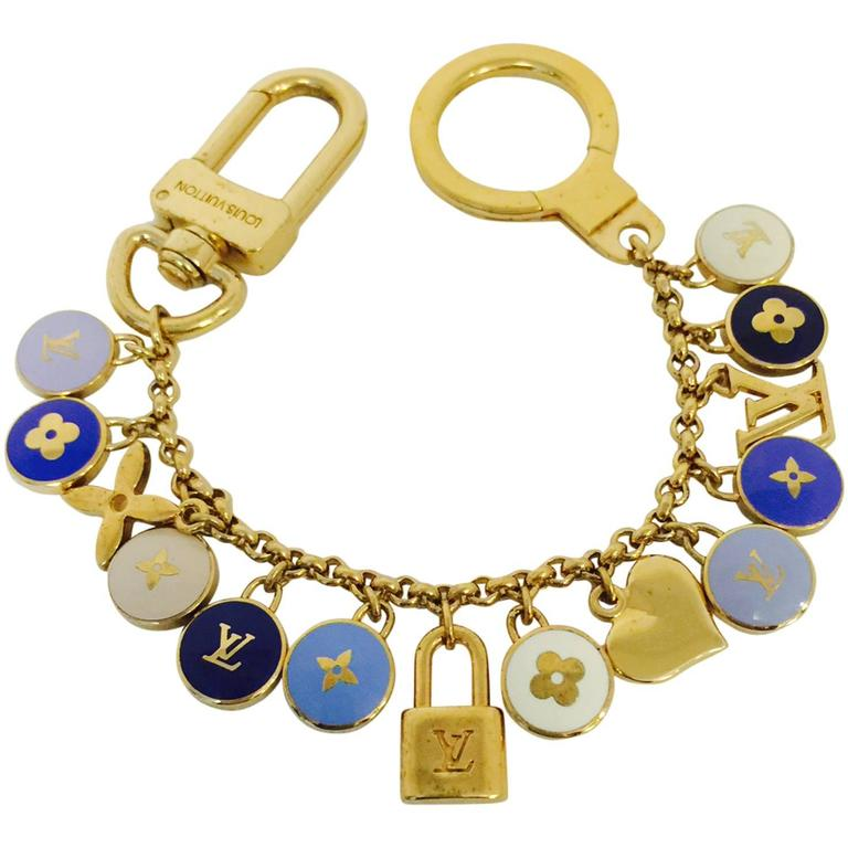 Louis Vuitton Pastilles Key Chain Above Excellent