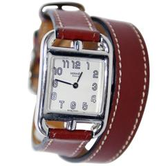 Hermes Small Cape Cod Double Tour Watch