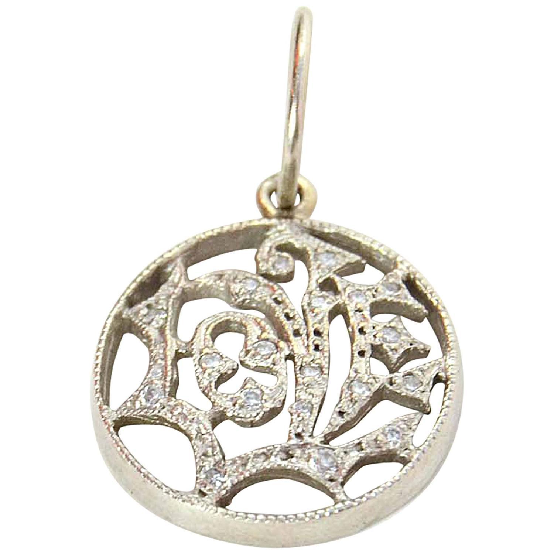 cathy waterman platinum and pendant at 1stdibs