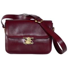 1970s CELINE Box Shoulder Bag