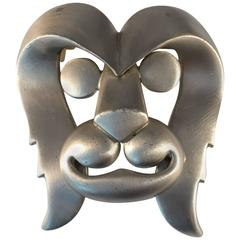 1960s Pierre Cardin Huge Lion Brooch