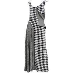 Yohji Yamamoto Houndstooth Dress