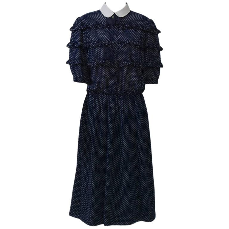 Hanai Mori Shirt Dress For Sale