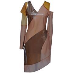 Tableaux Vivants for VPL Runway 2011 Finale Latex   Dress Seen On Lady Gaga