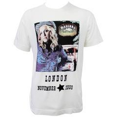 """Dolce and Gabbana """"Madonna London November 2000"""" T-Shirt"""
