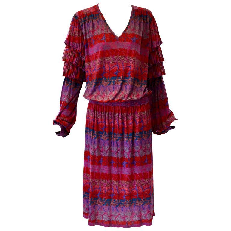 Vibrant Missoni Silk Jersey Dress