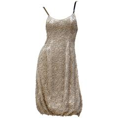 Giorgio Armani embellished silk dress