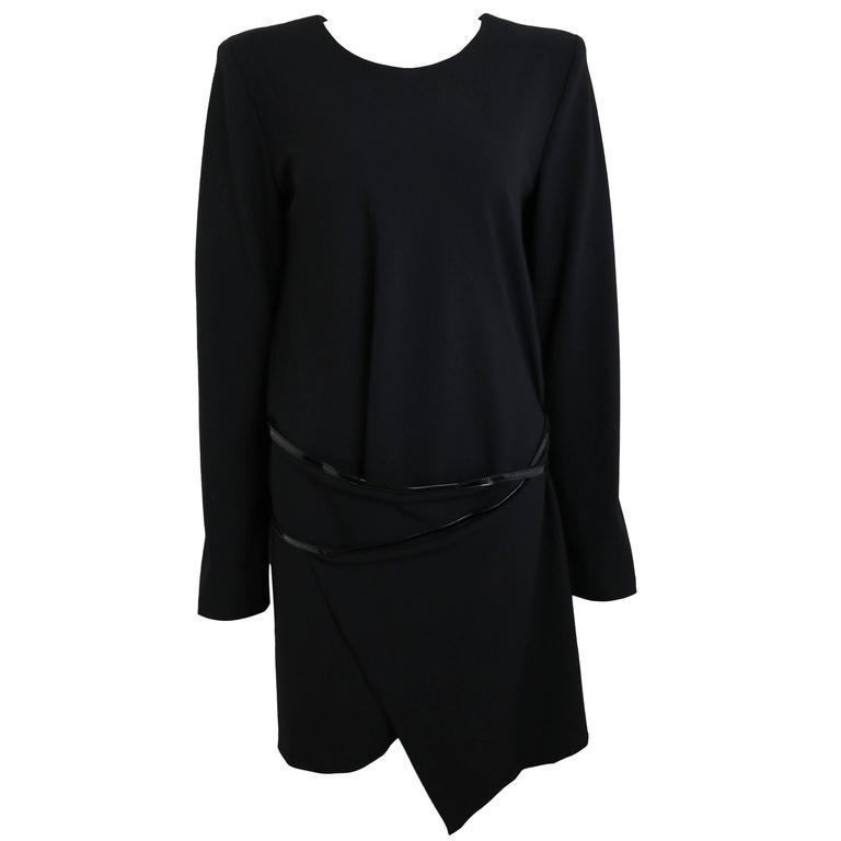 Gucci By Tom Ford Mini Black Dress