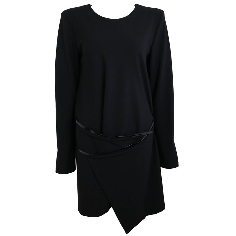 Gucci By Tom Ford Mini Black Dress For Sale