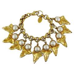Philippe Ferrandis Vintage Charm Bracelet