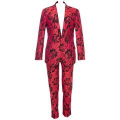Dolce & Gabbana Men's Floral Jacquard Suit, Autumn - Winter 2011