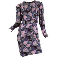 Ungaro Silk Floral Dress