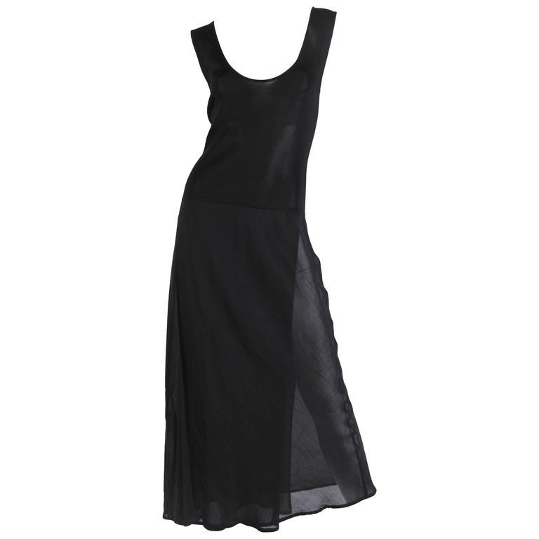 1990s Minimal Tank Dress