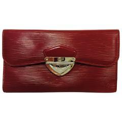Louis Vuitton Rubis Epi Leather Eugenie Wallet