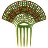 Art Deco Eygptian Revival Comb