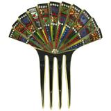 Eygptian Revival Art Deco Comb