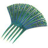 Elaborate French Art Deco Paste Comb
