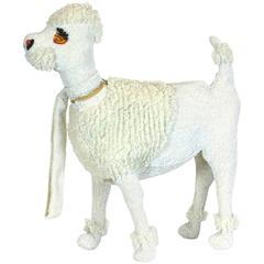 Walborg 1950s Hand Beaded Companion Poodle Purse