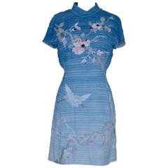 """Collector's Rare  Tom Ford For Gucci 2002 """"Ombre"""" Embroidered Dress New"""