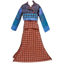 """ISSEY MIYAKE """"Red Eyes Tribe"""" Inflated Skirt Spring/Summer 2001  3Piece Ensemble"""