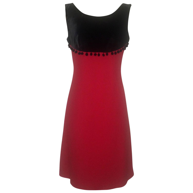 Moschino cheap chic red dress