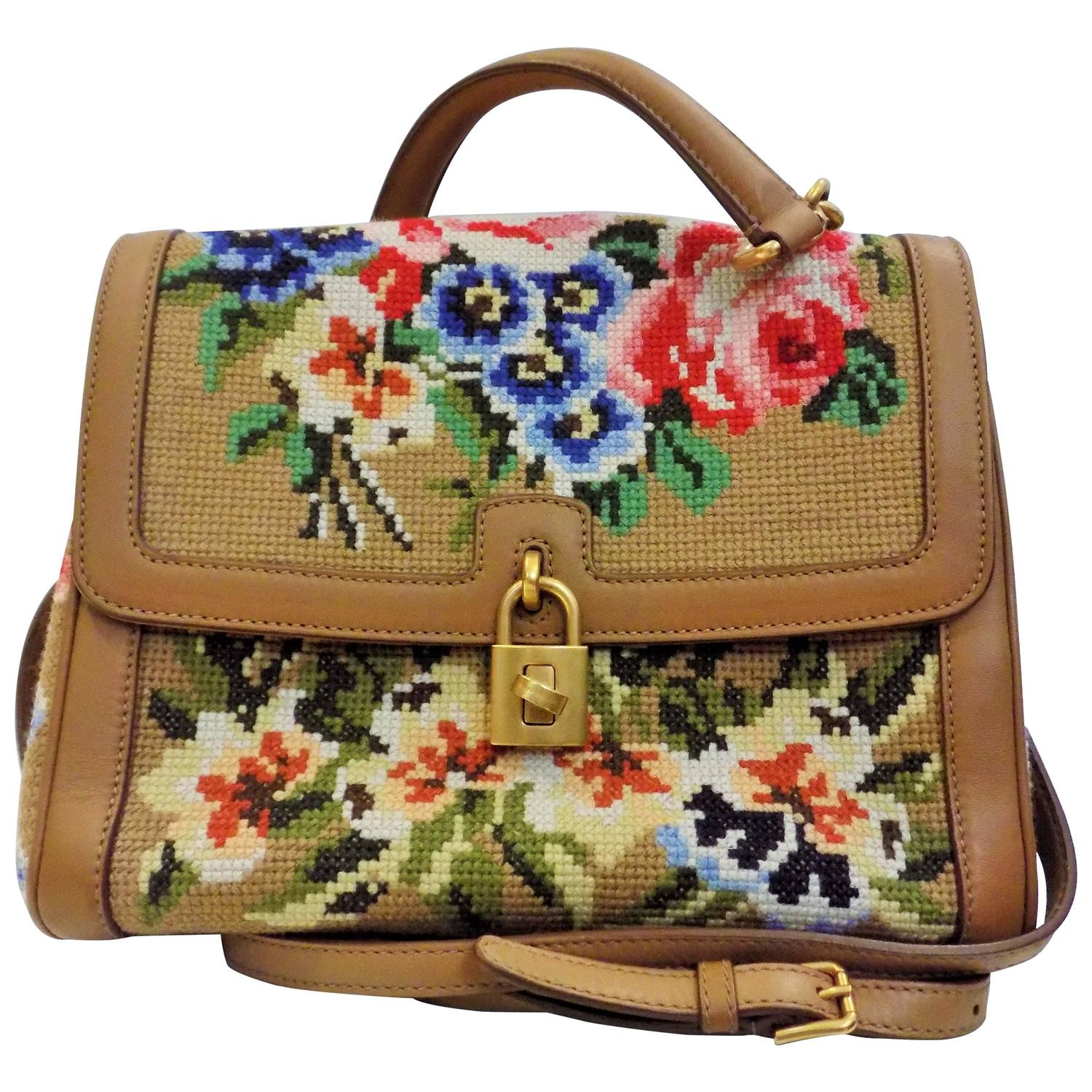 Dolce And Gabbana Needlepoint Bag For Sale At 1stdibs
