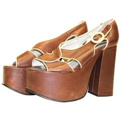 70s Platform Shoe
