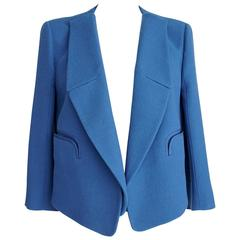 CHLOE Jacket Santorini Blue Convertible Style 38 / 6