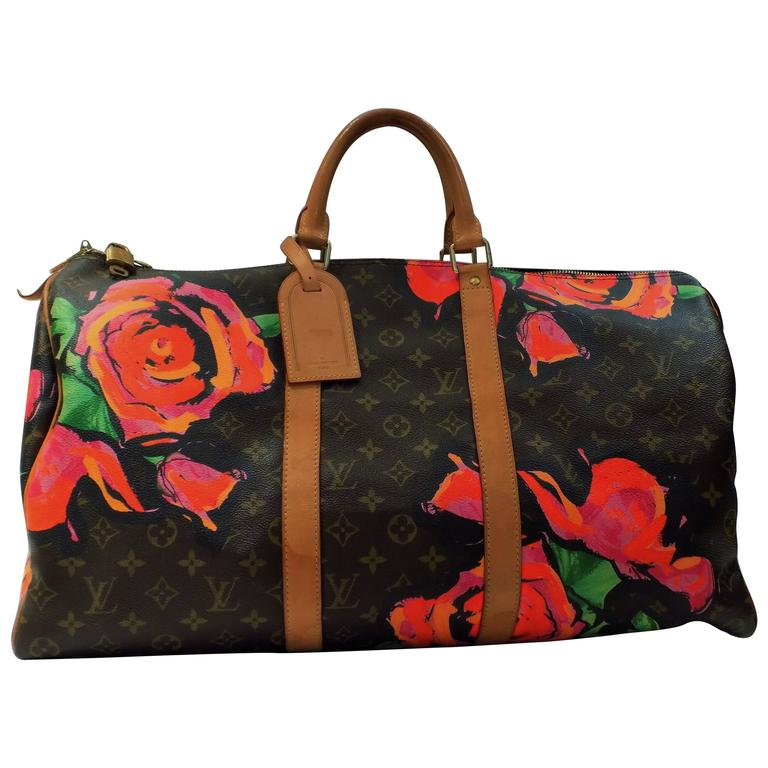 Louis Vuitton Stephen Sprouse Roses Keepall 50 at 1stdibs 7db55af862e9