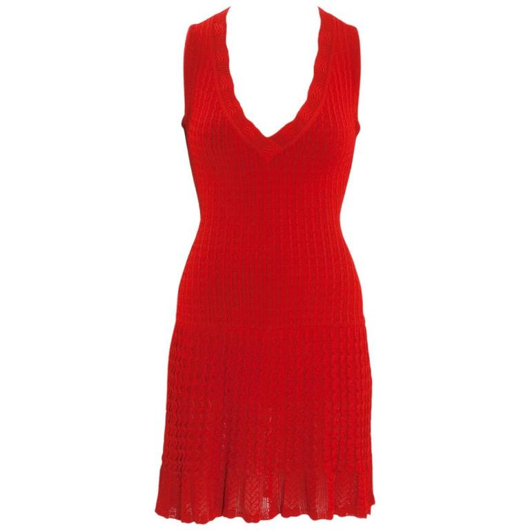 Alaïa Crochet Knit Dress, Spring-Summer 1992  1