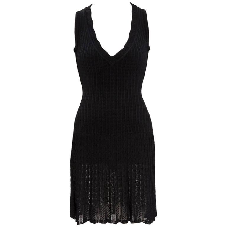 Alaïa Crochet Knit Dress, Spring-Summer 1992