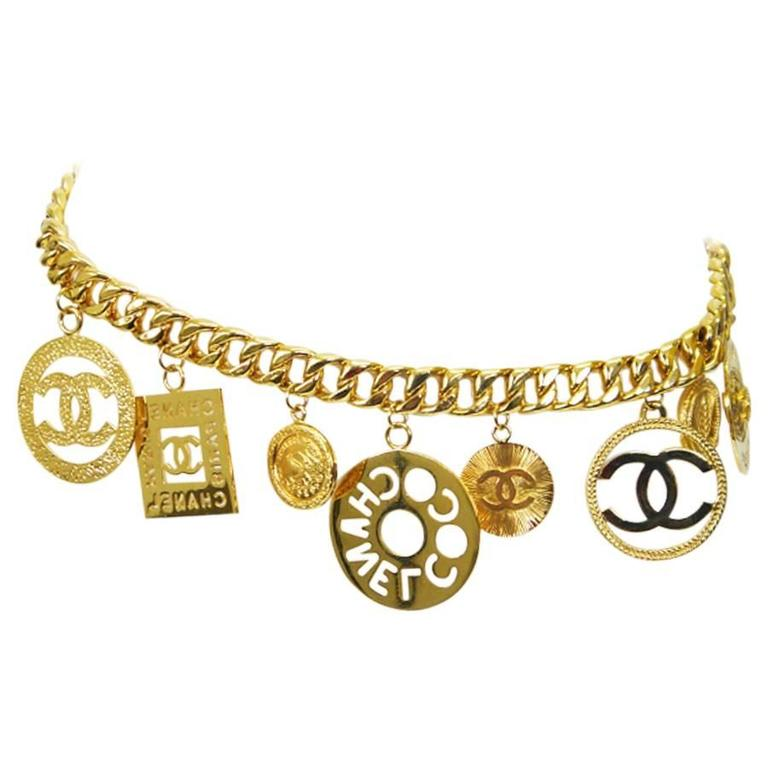 gold accessory necklace gangster jumbo costume big chain link ip