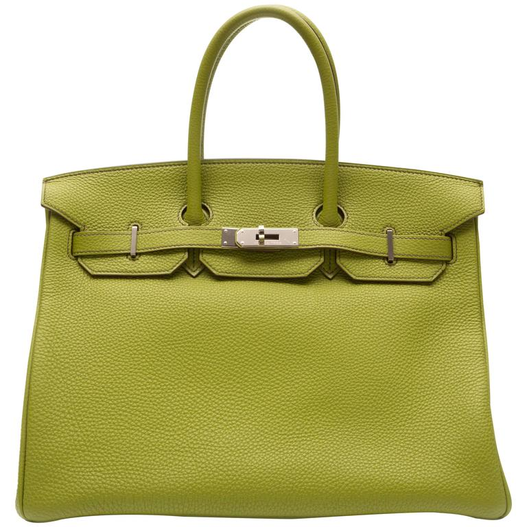 Hermes Green Birkin For Sale