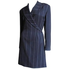 Herve Leger 1990s Wrap Dress