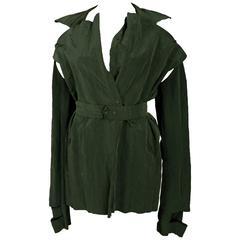 Maison Martin Margiela deconstructed crinkled jacket, c. 1990s
