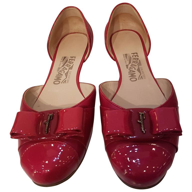 Salvatore Ferragamo fucsia Sandals