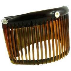 Jean Paul Gaultier Vintage Rare Comb Cage Cuff Bracelet
