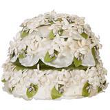 White Flower Hat
